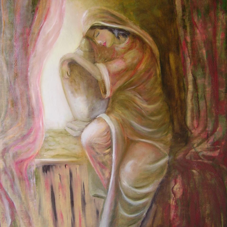 Kobieta z dzbanem